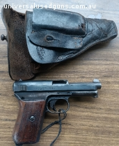 Mauser 1914 with holster