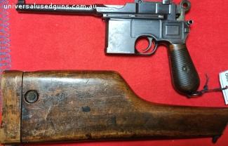 """PRICE REDUCED"" Mauser C96 large ring"
