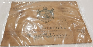 ORIGINAL E.J.CHURCHILL GUN CASE LABEL