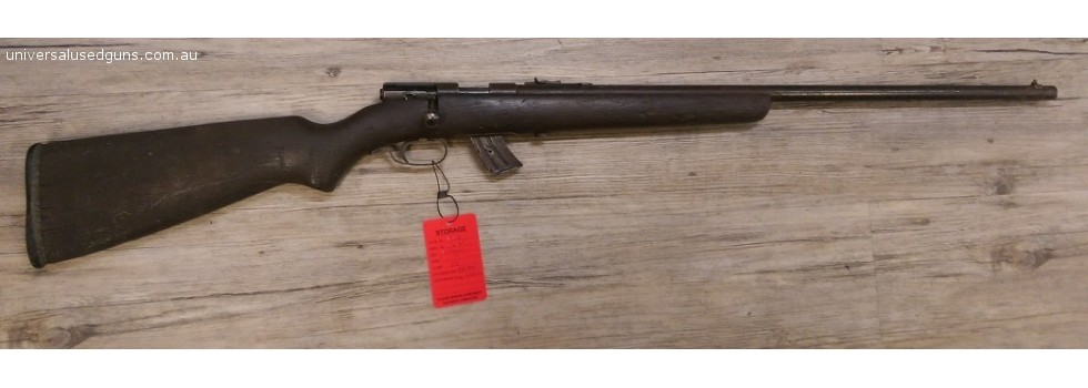 #1742 LITHGOW 12 .22LR - no bo... OLD AND WELL USED, BUT EVER RELIABLE