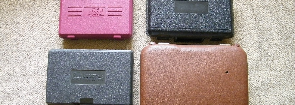 4 Pistol Cases 4 x Asst Pistol Carry Cases. Stamford, Gun Locker, Crane Sports price includes p...Show Details