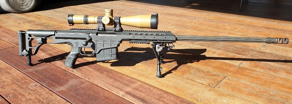 BARRETT 98B In Excellent condition comes with 4 x magazines and Pelican Case...Show Details
