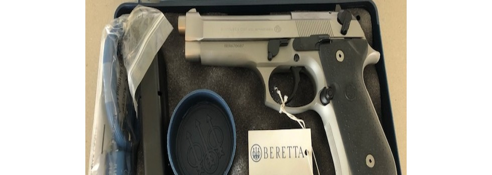 Beretta M9-92FS Inox Pistol Brand new Beretta M9-92FS Inox stainless steel pistol purchased two years ago in...Show Details