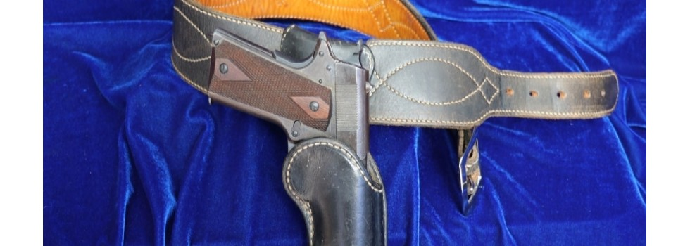 Bianchi Colt 1911 Style Auto D... Bianchi #45H Colt 1911 Style Auto Draw Single Right Handed Holster Rig. Made fro...Show Details