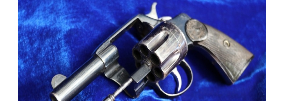 Colt 1892 New Navy Civilian mo... This pre war Colt 1892 New Navy Civilian model 38c revolver is in good condition...Show Details