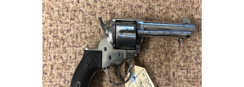 Colt DA 38 Lightning Colt DA 38 Lightning revolver in good condition for it's age. Built in 1895 this...Show Details