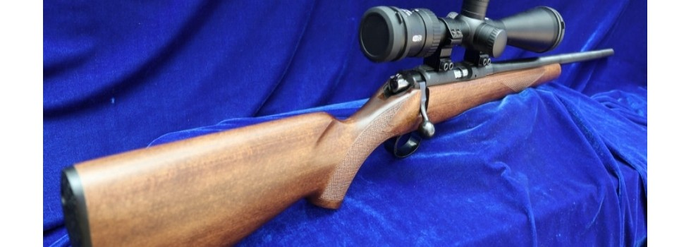 CZ American .22LR Bolt Action ... CZ 452-2E ZKM American .22LR Bolt Action Rifle in new condition. One owner since...Show Details