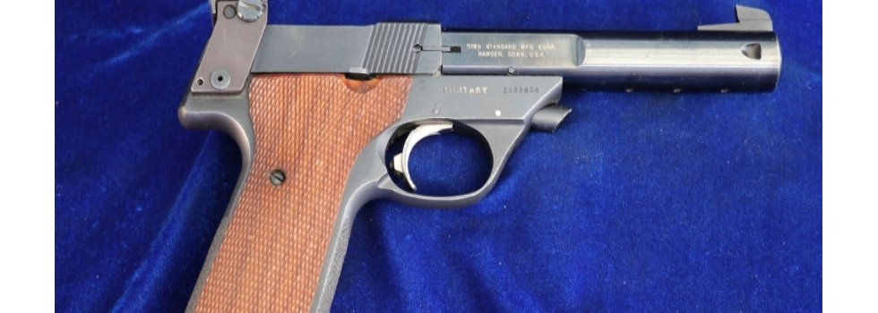 High Standard Supermatic Citat... High Standard Supermatic Citation 'Military' semi auto in very nice overall cond...Show Details