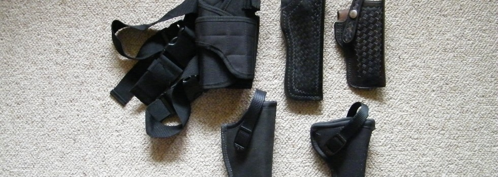 Holsters 5 Asst 5 Asst Holsters 1 Page Leather, 2 Hellweg, Velcro is leg , 6