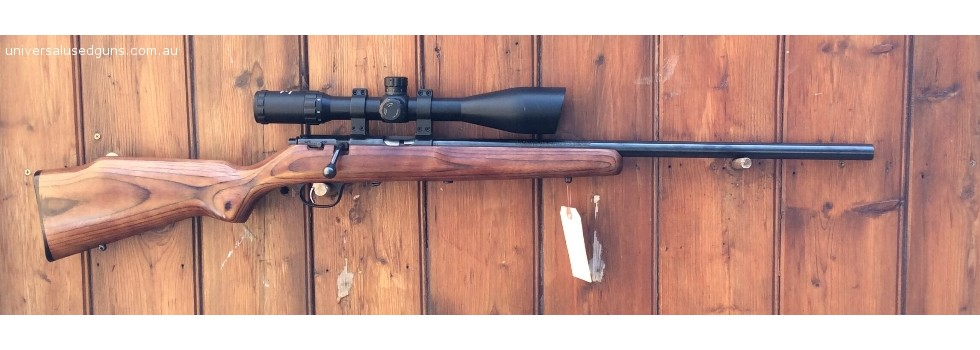 Marlin XT-17 .17HMR Scoped Rif... Heavy Varmint Barrel, Brown Laminated Stock, Nikko Stirling Nighteater 4-16x50 F...Show Details
