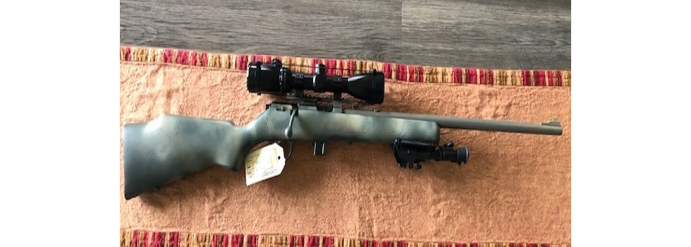 Marlin XT Bolt Action Rifle An very good to excellent Marlin XT bolt action rifle which has fired 500 to a 1...Show Details
