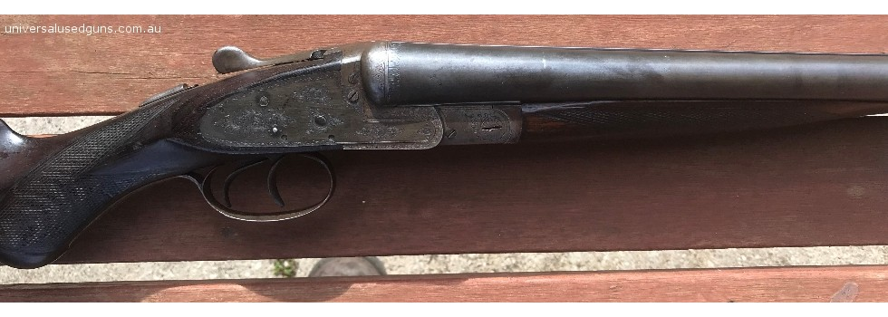 Scholefield Good English gun, nitro proofed 1 1/8  2 1/2 inch chambers.Very minor pitting in...Show Details